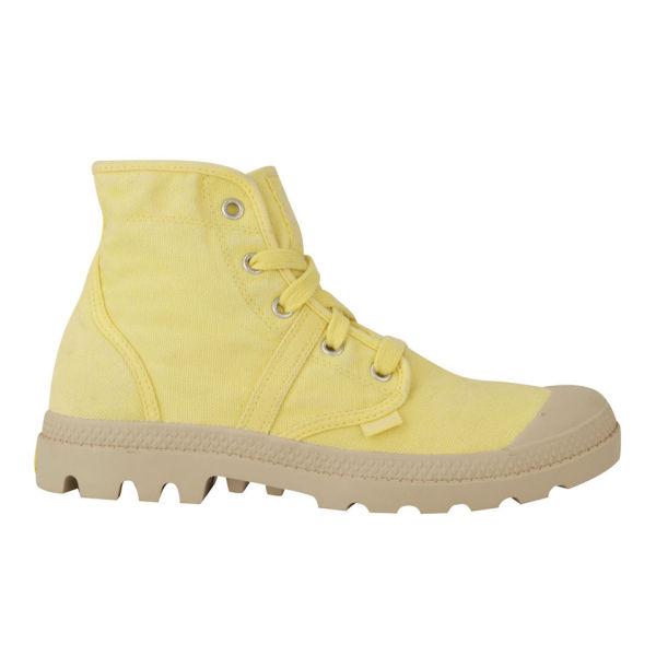 Palladium Women's Pallabrouse Boots - Lemon Yellow