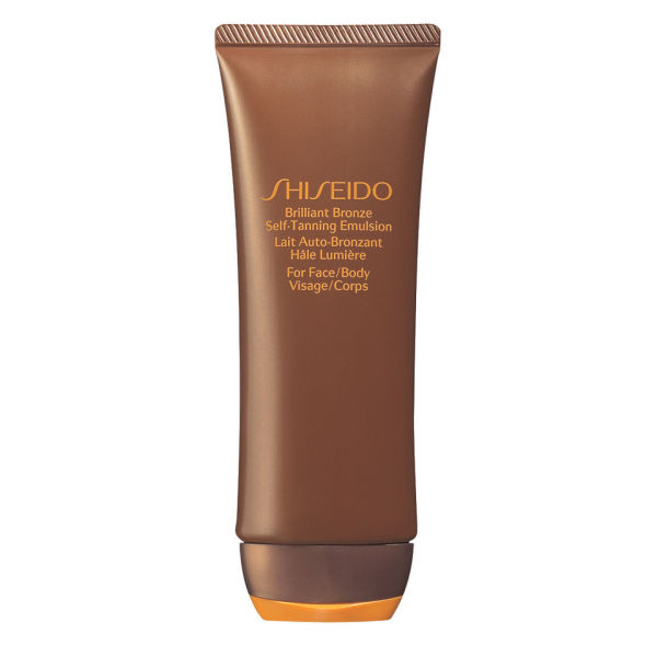 Shiseido Brilliant Bronze Selvbruning Emulsion (Face & Body) (100 ml)