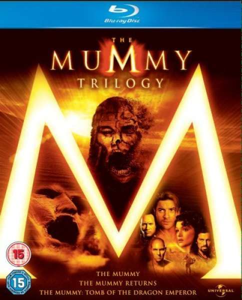 The Mummy Trilogy Box Set Blu Ray Zavvi