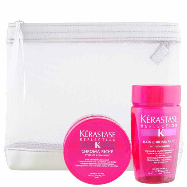 K rastase nutritive travel pack 2 products free for Kerastase bain miroir 2 shampoo