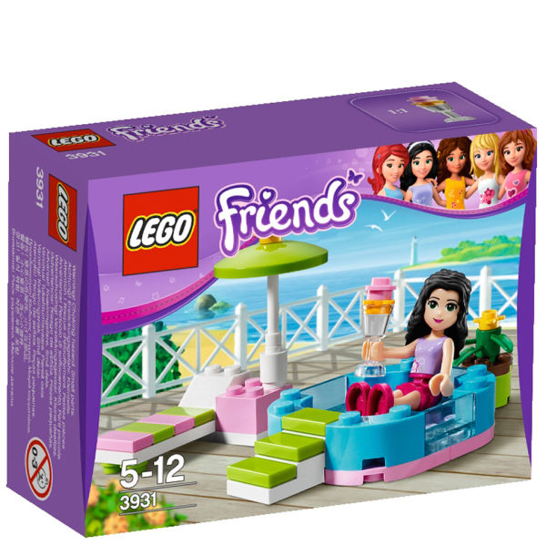 LEGO Friends Emmas Splash Pool (3931)      Toys