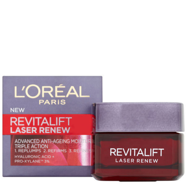 Dermo Expertise Revitalift Laser Renew Advanced Anti-Aging Moisturiser - Triple Action de L'Oreal Paris (50ml)