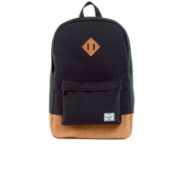 Herschel Supply Co. Heritage Suede Backpack - Black