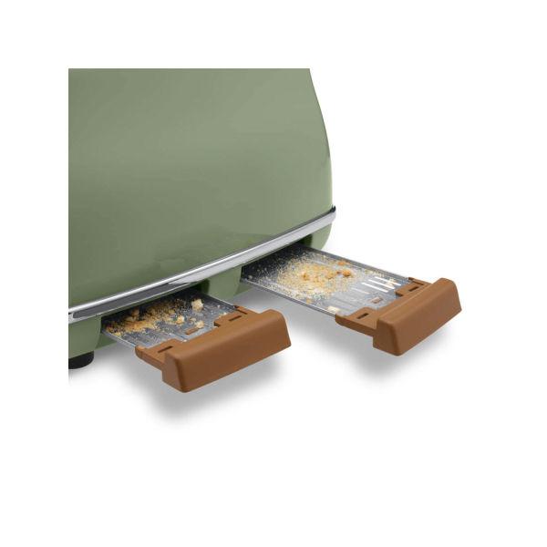 De Longhi Icona Vintage 4 Slice Toaster And Kettle Bundle