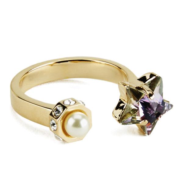 Maria Francesca Pepe Star Ring - Gold