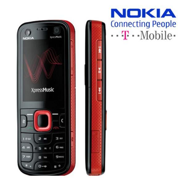 Nokia 5130 XpressMusic Mobile Phone on T Mobile Network