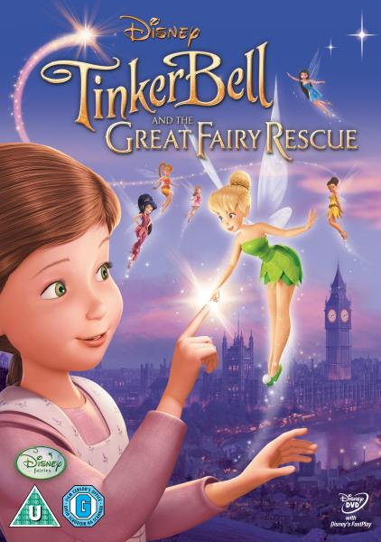 TinkerBell and the Great Fairy Rescue DVD Zavvi