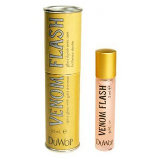 Repulpante labial DuWop Lip Venom Flash Gold - 3.5ml