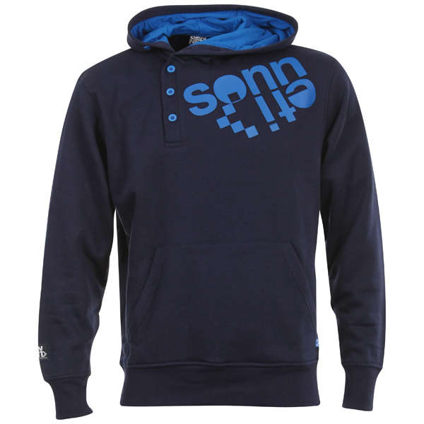 Sonneti Men S Offset Hoody Navy Sports Amp Leisure