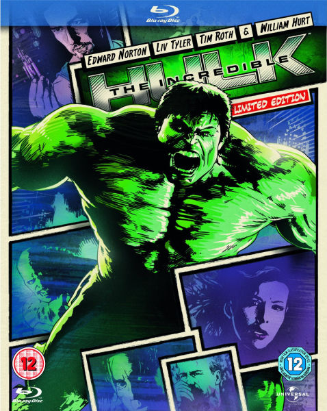 The Incredible Hulk Reel Heroes Edition Blu Ray Zavvi