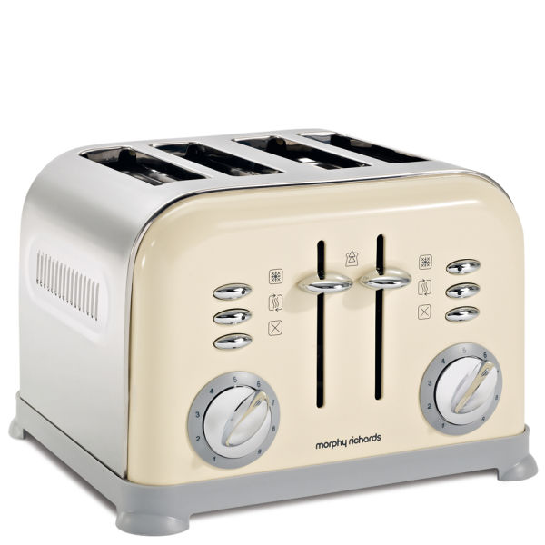 Morphy Richards Toaster: Morphy Richards 4 Slice Accents Toaster