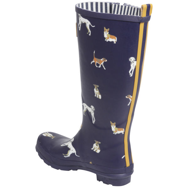 Dog Print Wellington Boots Uk