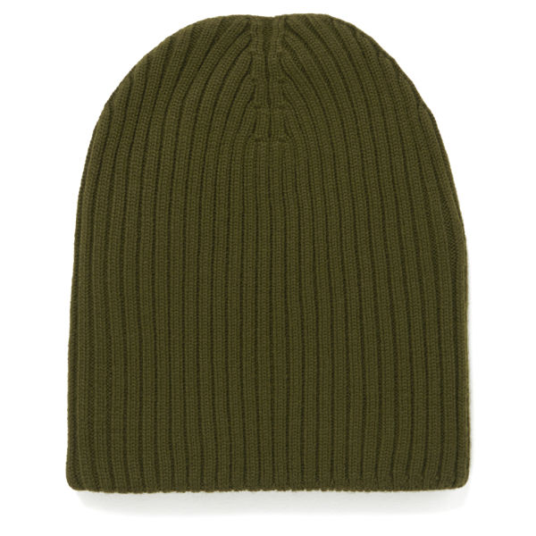 M Missoni Ribbed Beanie Hat - Muschio