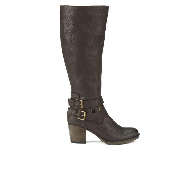 Ravel Women's Utah Knee High Leather Heeled Boots - Brown