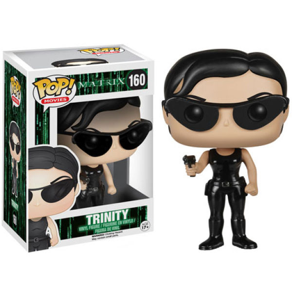 The Matrix Trinity Pop! Vinyl Figure