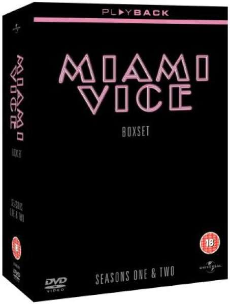 Miami Vice - Seasons 1 And 2 [14DVD]
