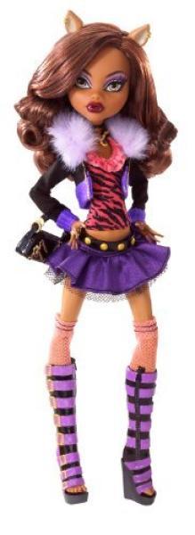 Monster High Doll Clawdeen Wolf Toys Zavvi Us