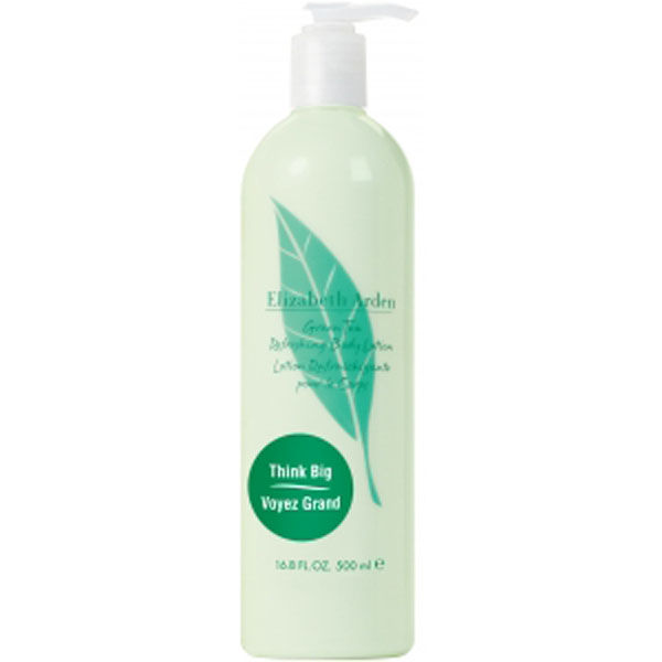 Green body lotion