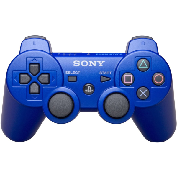 dual shock 3 ps3 controller blue games accessories zavvi. Black Bedroom Furniture Sets. Home Design Ideas