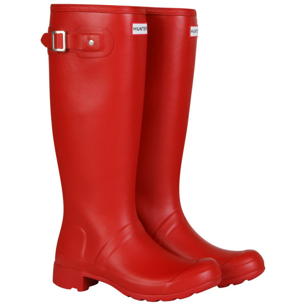 Hunter Women's Original Tour Wellington Boots - Red