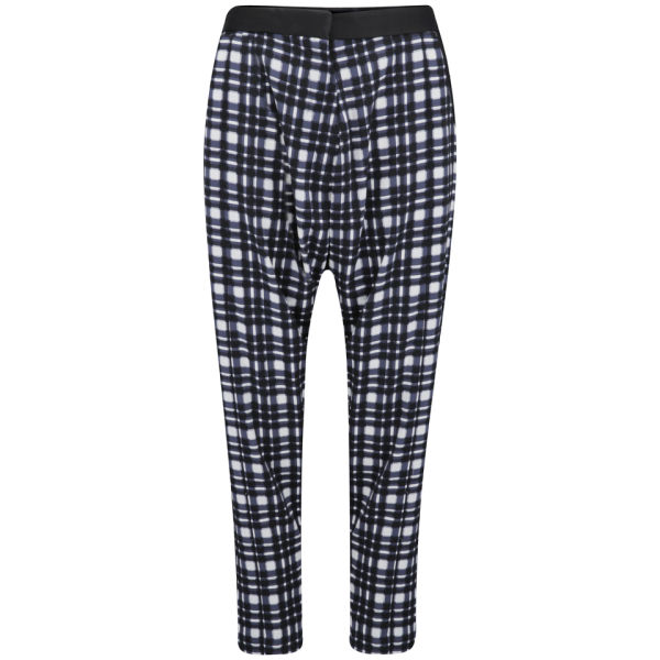 Finders Keepers Women's Daybreak Pants - Tartan Print/Black