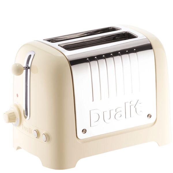 Cream 4 slot toaster
