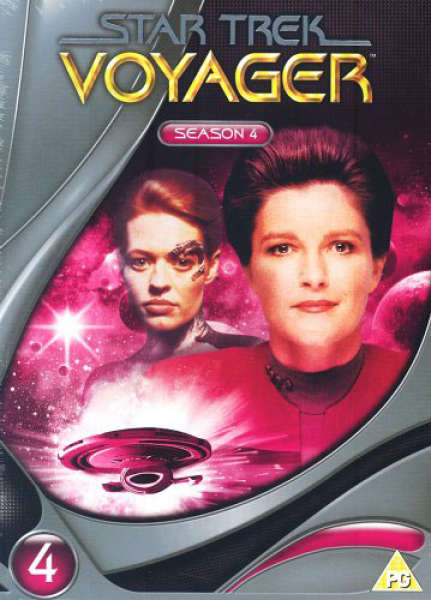 Star Trek Voyager - Season 4 (Slims)