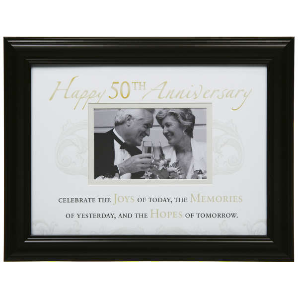 Moments 50th Anniversary Photo Frame | IWOOT