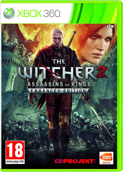 the witcher 2 assassins of kings enhanced edition xbox 360. Black Bedroom Furniture Sets. Home Design Ideas