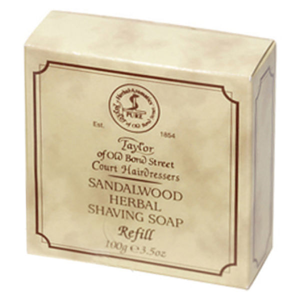 Taylor of Old Bond Street Sandalwood Shaving Soap Refill (3.5 oz)
