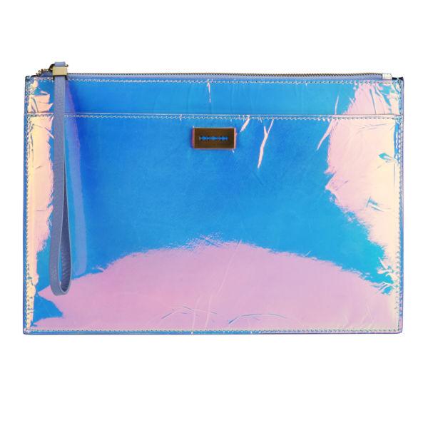 McQ Alexander Mcqueen Women's Razor Edge Tech Clutch Bag - Multi