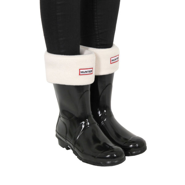 13b671399c823e Hunter Women s Original Gloss Short Wellies - Black Clothing ...