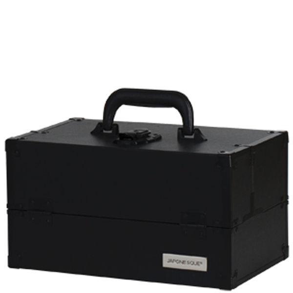 Japonesque Train Case Medium - Black. Description 5b00ae6f1da50
