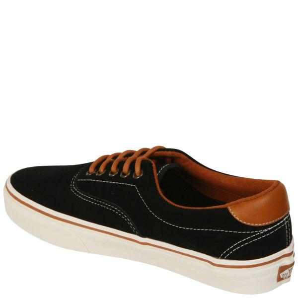Furgonetas-era-59-gamuza De Cuero Negro-marrón-1 REQ086H9