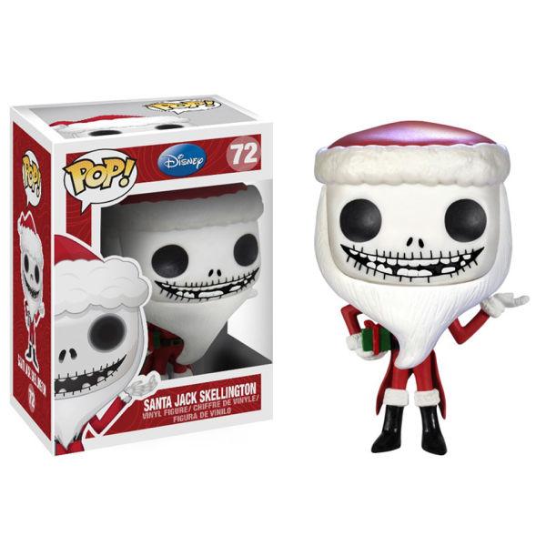 Figurine Pop! Jack Père Noël L'Étrange Noël de Monsieur Jack Disney