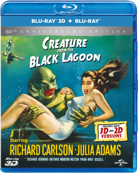 Creature from the Black Lagoon 3D - 60th Anniversary Edition (Includes 2D Version)