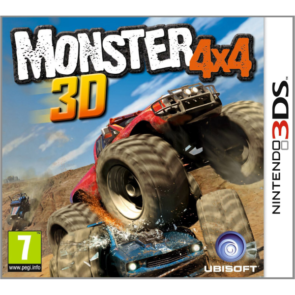 Desert Race Truck For Sale >> Monster 4X4 Nintendo 3DS | Zavvi.com