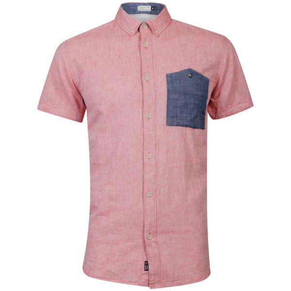 Jack Jones Men 39 S Aspect Shirt Coral Clothing