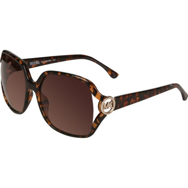 b6a9e7c564b44 MICHAEL MICHAEL KORS Pippa Oversized Round Sunglasses - Tortoise  Image 1