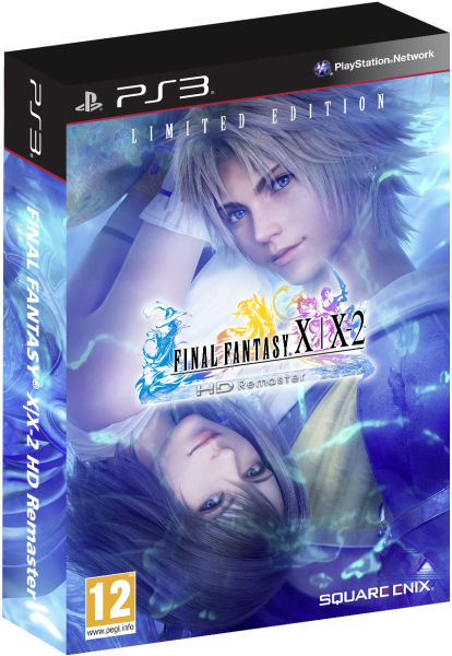 Final fantasy x limited edition ps3-9027