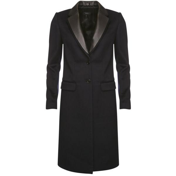 Joseph Women's Dakota Wool Coat - Navy