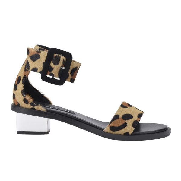 2018 Heels Women Asos Penzance High With P Toe Leopard Shoes Zz2x9lq K U Size 3 4 5 6