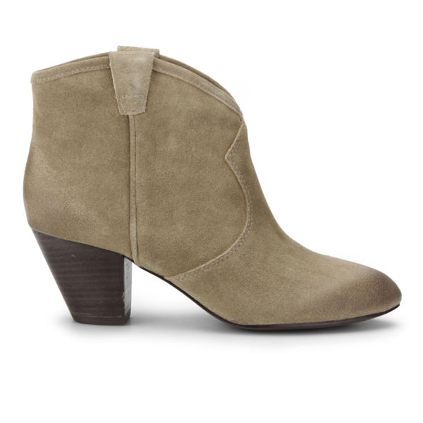 Ash Women's Jalouse Heeled Suede Ankle Boots - Taupe
