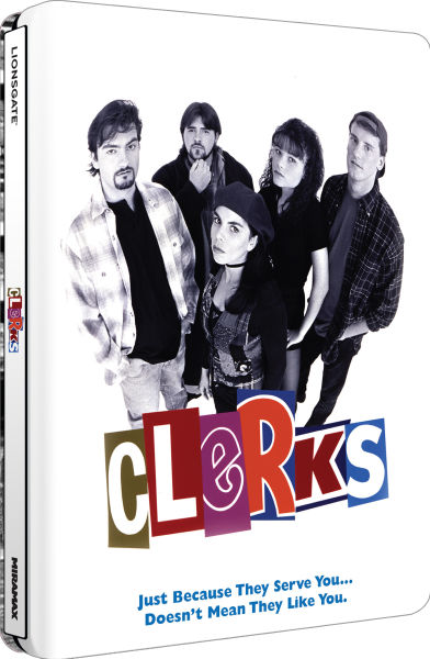 Clerks - Zavvi Exclusive Limited Edition Steelbook (Ultra Limited Print Run) (UK EDITION)