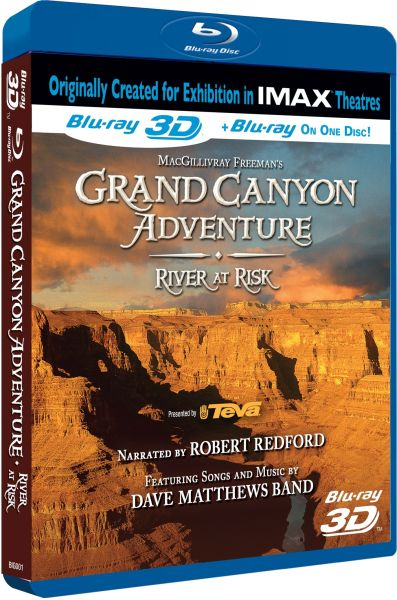 Imax Grand Canyon Adventure River At Risk Includes 2d