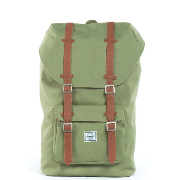 Herschel Supply Co. Little America Backpack - Olive  Image 1 09b3a9e6bd207