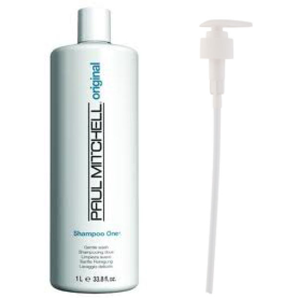 Paul Mitchell Shampoo One (1000ml) med pumpe (pakke)