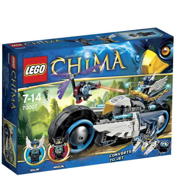 LEGO Legends of Chima: Eglors Twin Bike (70007) Toys ...
