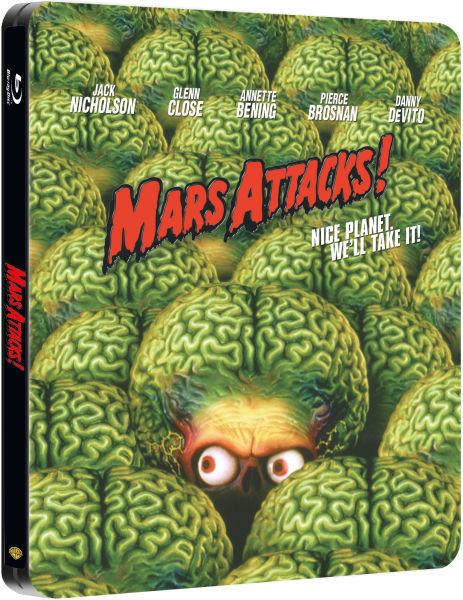 Mars Attacks! - Steelbook Exclusivité Zavvi