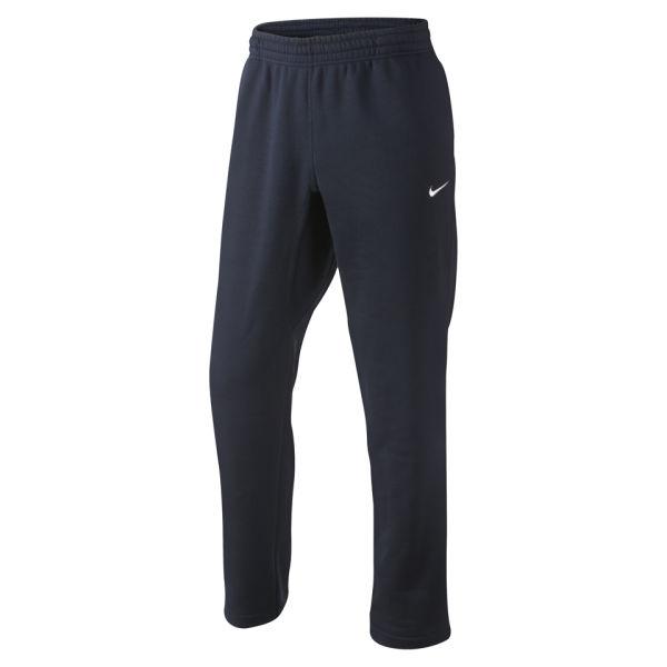 Nike Men's Club Open Hem Pants - Dark Obsidian: Image 1